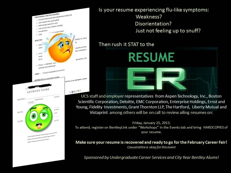 Resume ER Flyer