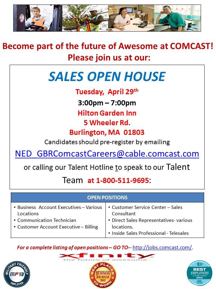 Comcast - Open House External 2014