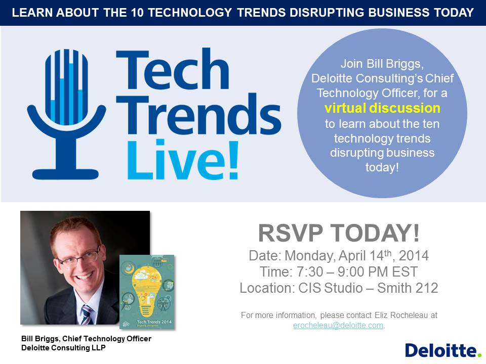Tech Trends Live! Flyer Option 1
