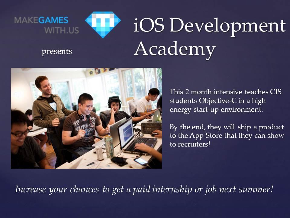 iOS Development Academy