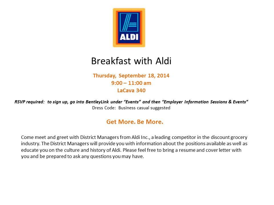 Aldi - Breakfast
