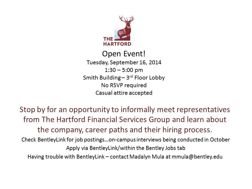 Hartford - Open Event