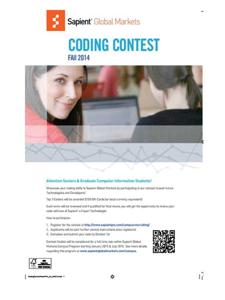 Sapient Coding Contest
