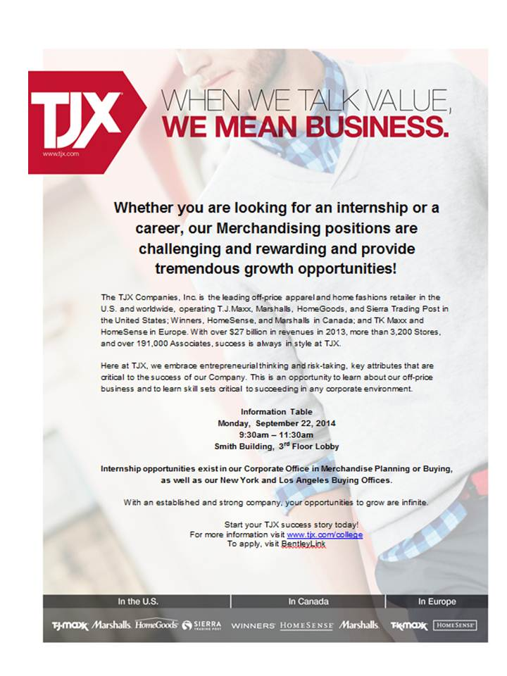 TJX - Open Event