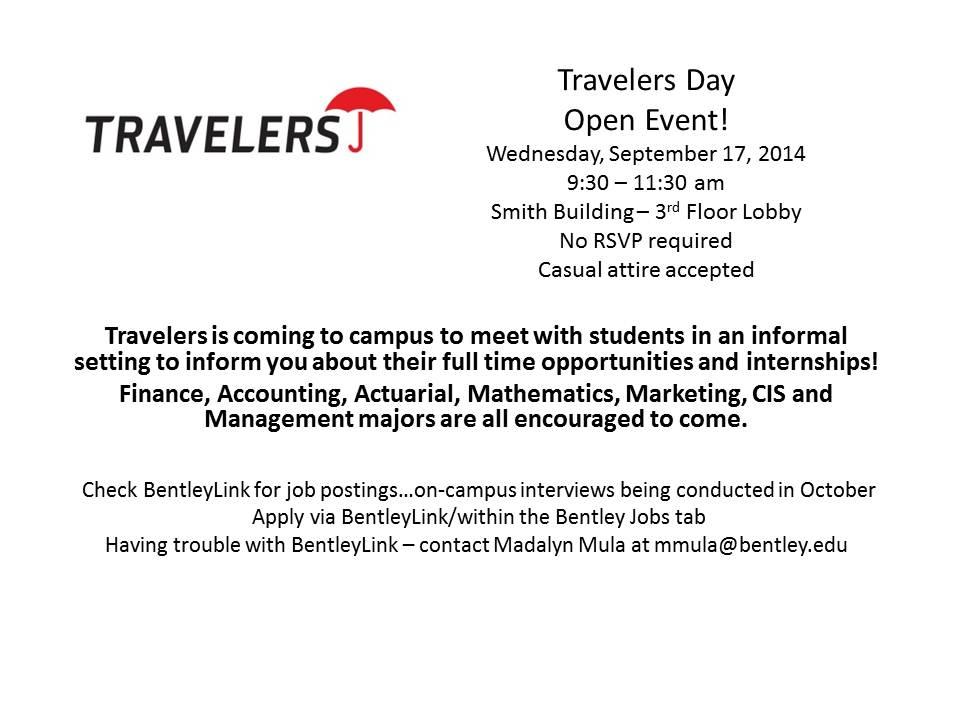 Travelers - Open Event